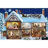 Falcon De Luxe Christmas Morning Jigsaw Puzzles (1000 Pieces)