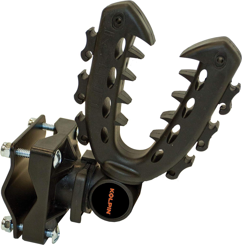 Rack Mount Rifle Gun Tool Rhino Grip Bows Pole Shovels Holder UTV ATV Hunting XL
