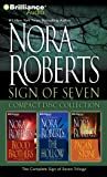 Nora Roberts Sign of Seven CD Collection: Blood Brothers, The Hollow, The Pagan Stone