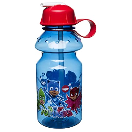 43b578a824 Amazon.com: Zak Designs PJ Masks 14oz Kids Water Bottle with Straw - BPA  Free with Easy Clean Design, PJ Masks: Kitchen & Dining