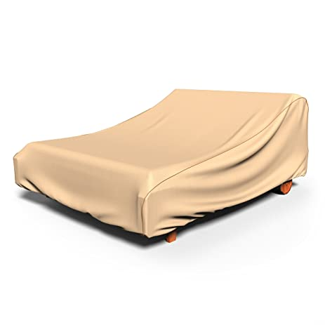 Rust-Oleum NeverWet Double Patio Chaise Lounge Cover (Tan)  sc 1 st  Amazon.com : double patio chaise lounge - Sectionals, Sofas & Couches