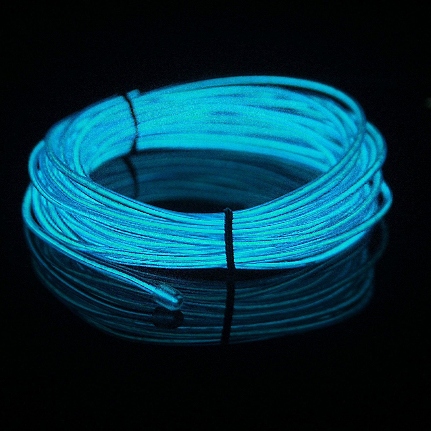 Lerway 3M EL Electroluminescent Wire Led Light Rope Fashion Cool Car ...