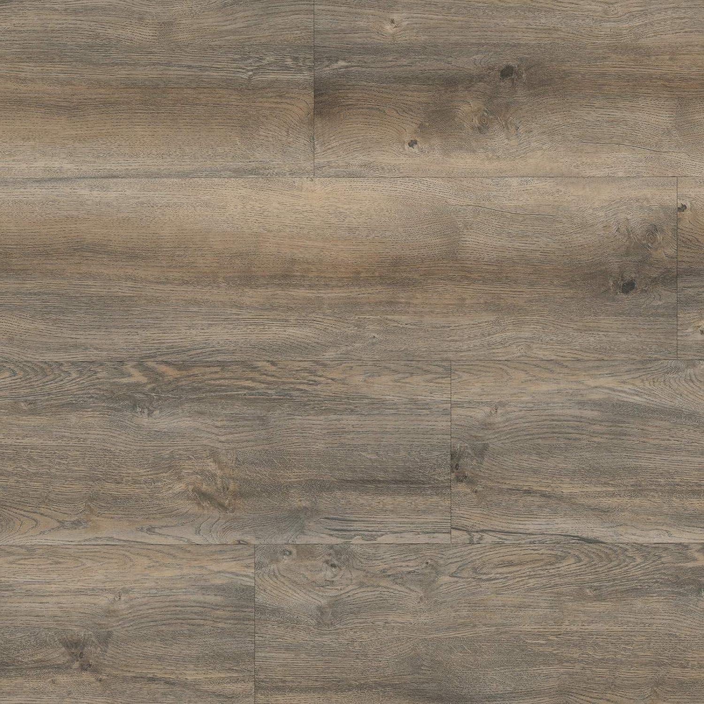 Burgeiche Natur HORI/® Klebe-Vinylboden PVC Bodenbelag I Wasserfest Savanna Muster