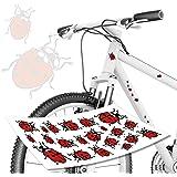 Marienkäfer Aufkleber für Fahrrad von style4Bike.de / Kinderrad Aufkleber Sticker