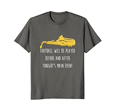 Amazon funny saxophone shirt football will be marching band mens funny saxophone shirt football will be marching band sax 2xl asphalt malvernweather Images