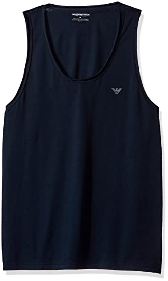 d6d6e229839ca Emporio Armani Men s Pima Cotton Tank Top at Amazon Men s Clothing store