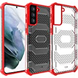 Restoo Samsung Galaxy S21 Case,Anti-Slip Hard Armor Shockproof Cover with Rugged Heavy Duty Protection for Samsung Galaxy S21