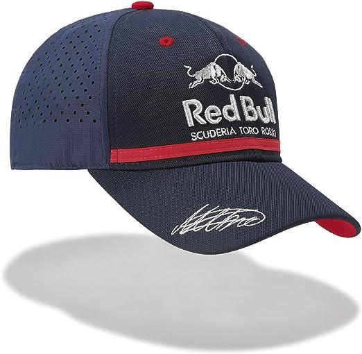 Red Bull Toro Rosso Alexander Albon Driver Gorra, Azul Unisexo Talla única Cap, STR F1 2019 Original Ropa & Accesorios