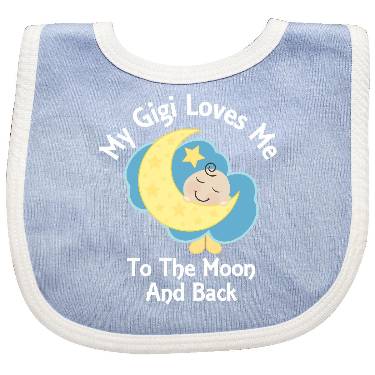 Inktastic - Gigi Loves Me to The Moon and Back Baby Bib 262f0 14-156400-116-893-2993