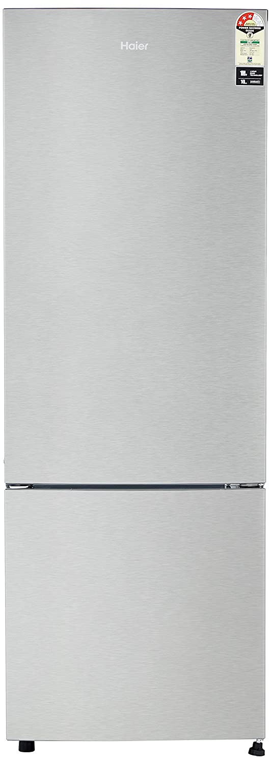 Haier 345 L 3 Star Frost-Free Double-Door Refrigerator (HRB-3654CSS ...