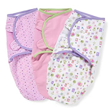 13a5cbe14b9 Amazon.com  Summer Infant SwaddleMe Adjustable Infant Wrap 3-Pack ...