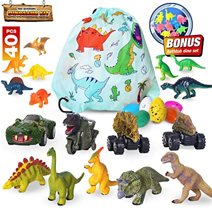 5Pc Fun Jurassic Dinosaur Play Set Animal Action Figures Toys Christmas Gift