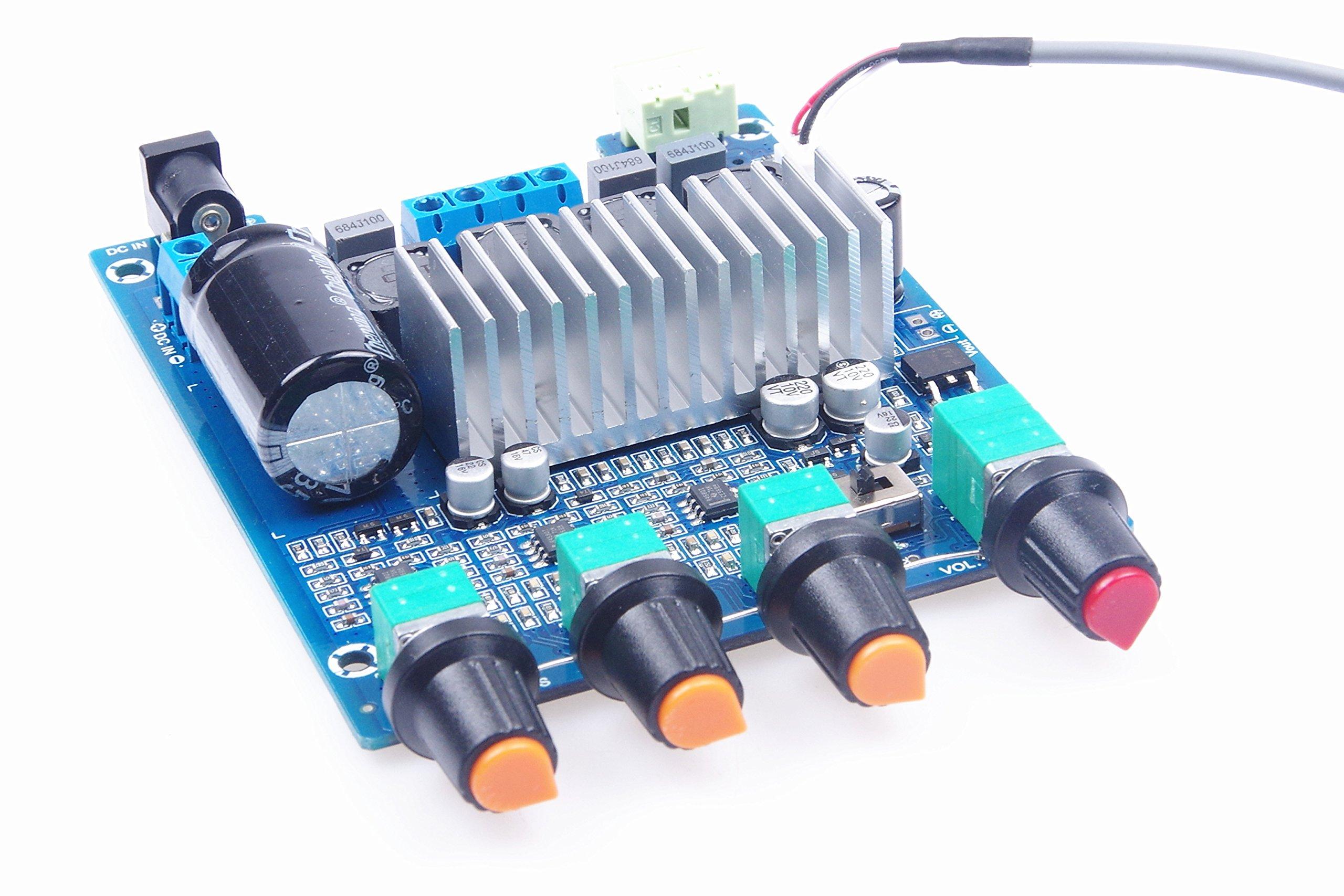 KNACRO TPA3116 2.0 Dual Channel Stereo HIFI High Power Digital Amplifier Board
