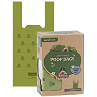 Pogi's Poop Bags - 300 Bags with Easy-Tie Handles - Large, Biodegradable, Scented, Leak-Proof Dog Poo Bags