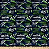 Traditions NFL Cotton Broadcloth Seattle Seahawks