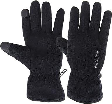 Fleece Winter Handschuhe mit Thinsulate von Alpidex Fleecehandschuhe