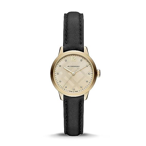 BURBERRY LADIES  THE CLASSIC ROUND WATCH BU10107  Amazon.ca  Watches 74c29ea8e01