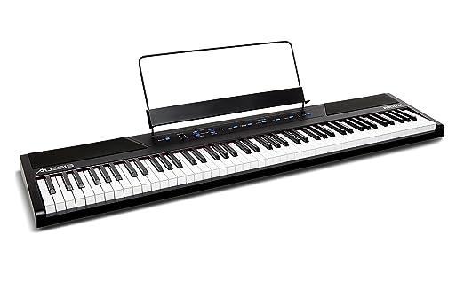 9 opinioni per Alesis Recital Pianoforte Digitale con 88 Tasti Semi-Pesati e Altoparlanti