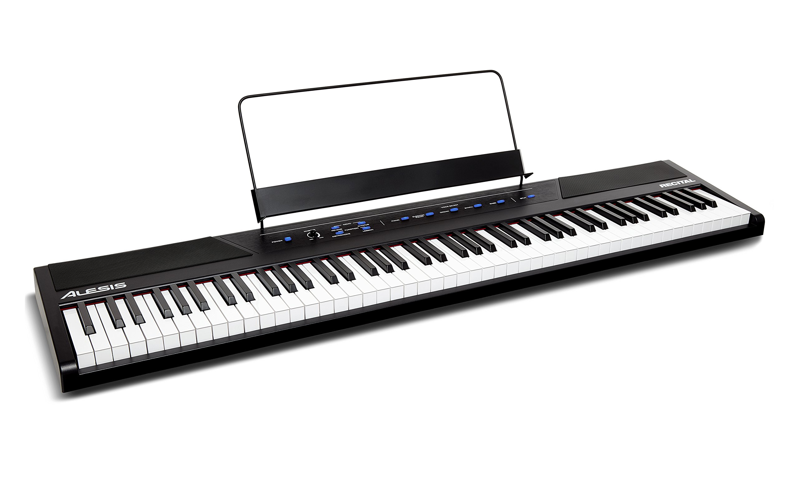 1. Alesis rectical -88-key Beginner Digital Piano/Keyboard
