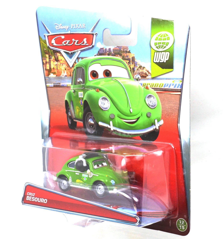 Disney Pixar Cars 2014 CRUZ BESOURO WGP 12//15 Diecast 1:55 NEW World Grand Prix