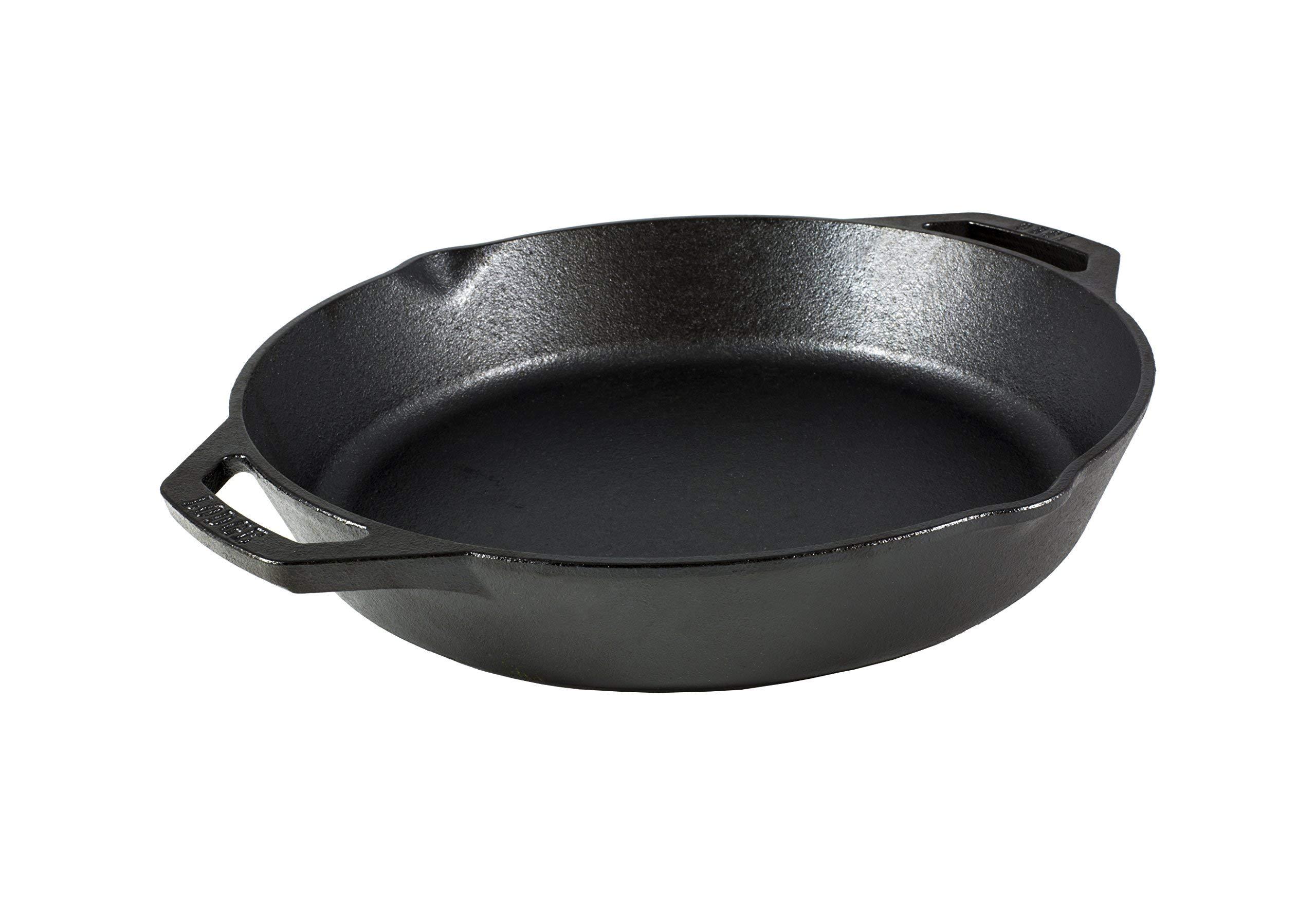 Lodge L10SKL Cast Iron Pan 12'' Black by Lodge (Image #1)