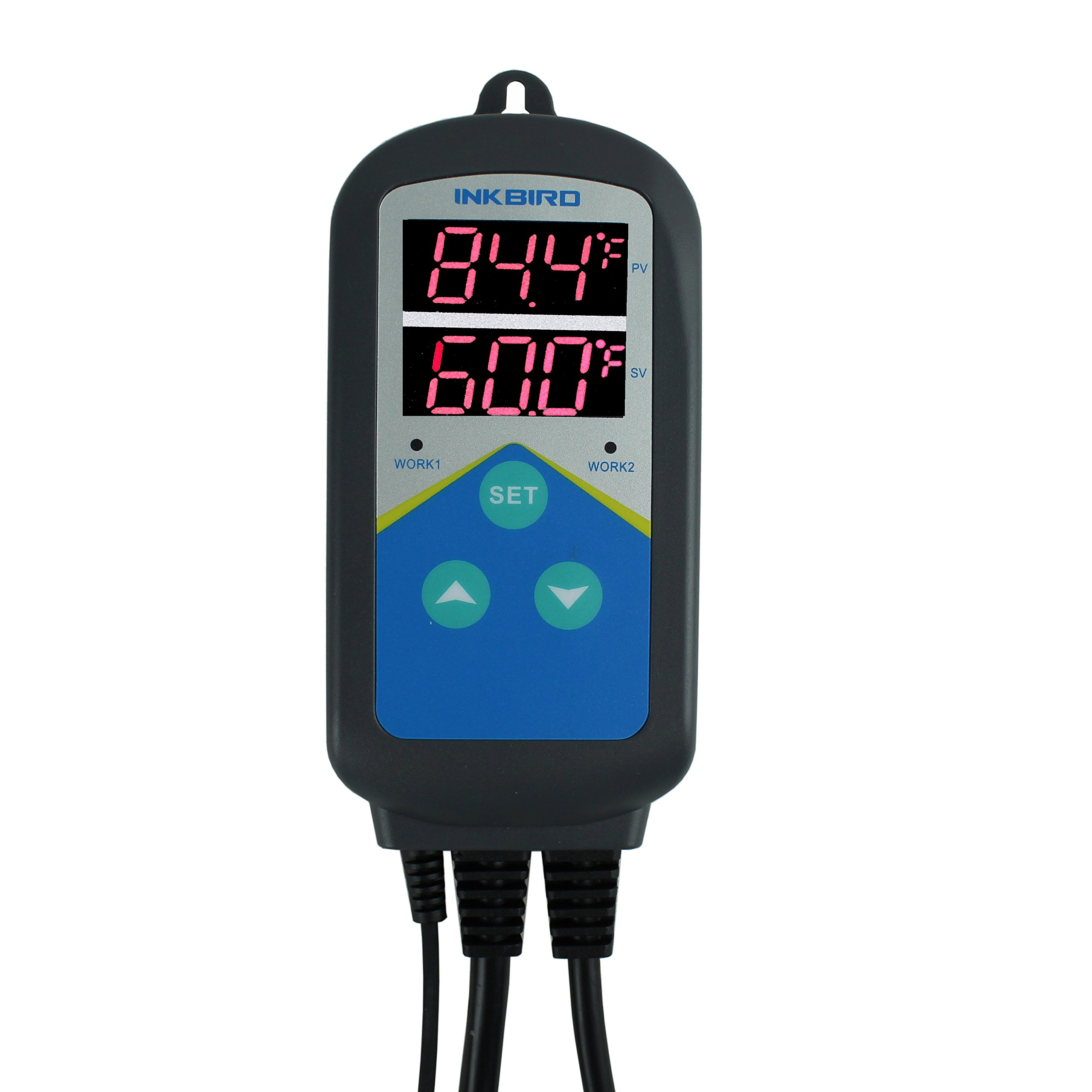 Inkbird Digital Outlet Heat Temperature Controller with Day Night Control for Brewing, Aquarium, Breeding, Reptiles, Hatching, Heat Mat (No Cool Control)
