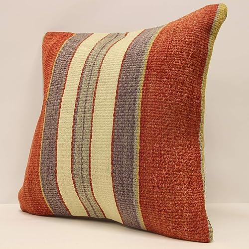 Black Pillow 8340 Sofa Pillow Rug Pillow Best Pillow Embroidered Pillow Kilim Ottoman Throw Pillow 16x16 Cover Case Sofa Pillow