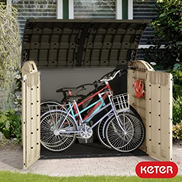 Keter Woodland - Cobertizo horizontal (Ultra XL, 1, 1 x 1, 7 ...