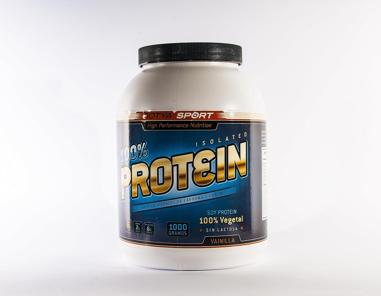 SOTYA Proteína Soja 100% Vainilla 1 kg: Amazon.es: Salud y cuidado personal