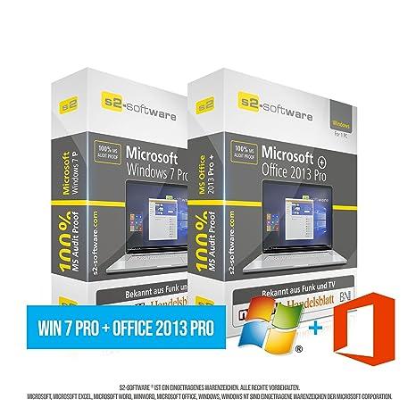 Microsoft® Windows 7 Professional (PRO) + Office PRO 2013. Original ...