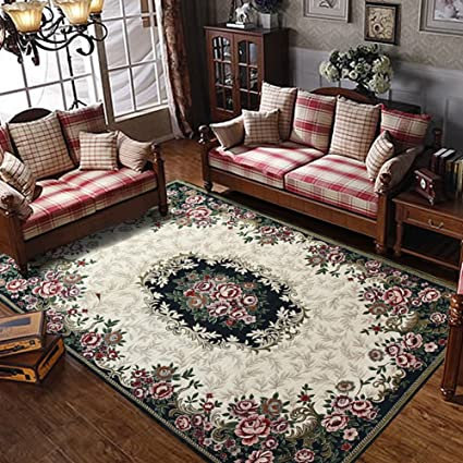 Amazon.com: Decorative rugs modern carpet rectangle mats for bedroom ...