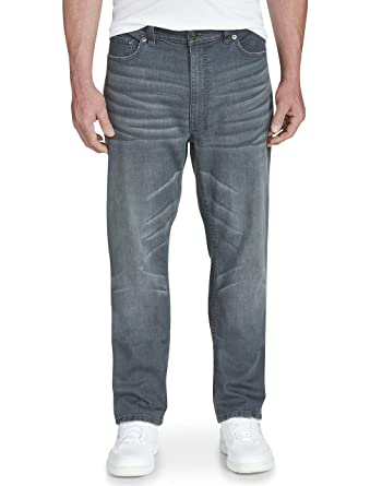06fb843f True Nation by DXL Big and Tall Athletic-Fit Stretch Jeans at Amazon Men's  Clothing store: