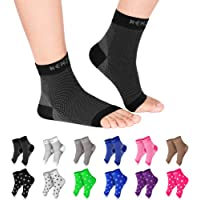 NEWZILL Plantar Fasciitis Socks with Arch Support, Best 24/7 Foot Care Compression Sleeve, Eases Swelling & Heel Spurs…