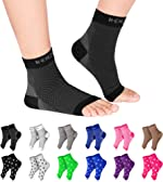 NEWZILL Plantar Fasciitis Socks with Arch Support, 24/7 Foot Care Compression