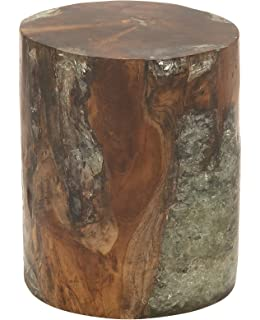 Amazon Com Strata Furniture Twist Stool 12 By 18 Inch Walnut