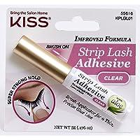 KISS Strip Eyelash Adhesive, Clear 0.176 Ounce
