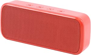 Insignia - Portable Bluetooth Stereo Speaker - Red