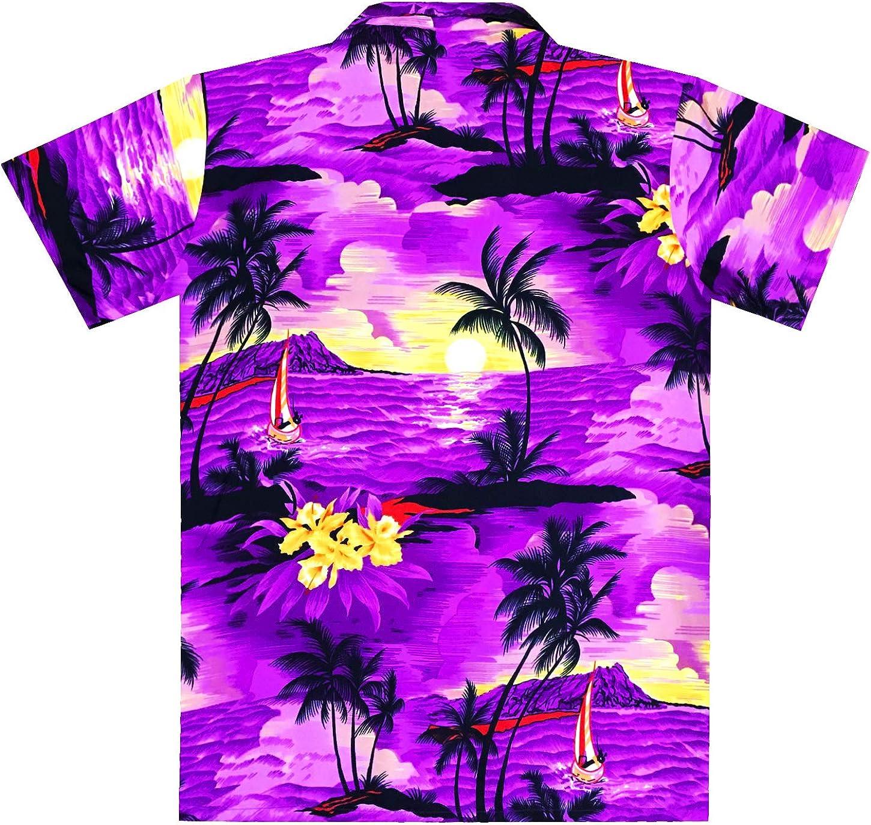 Virgin Crafts Mens Hawaiian Shirt Beach