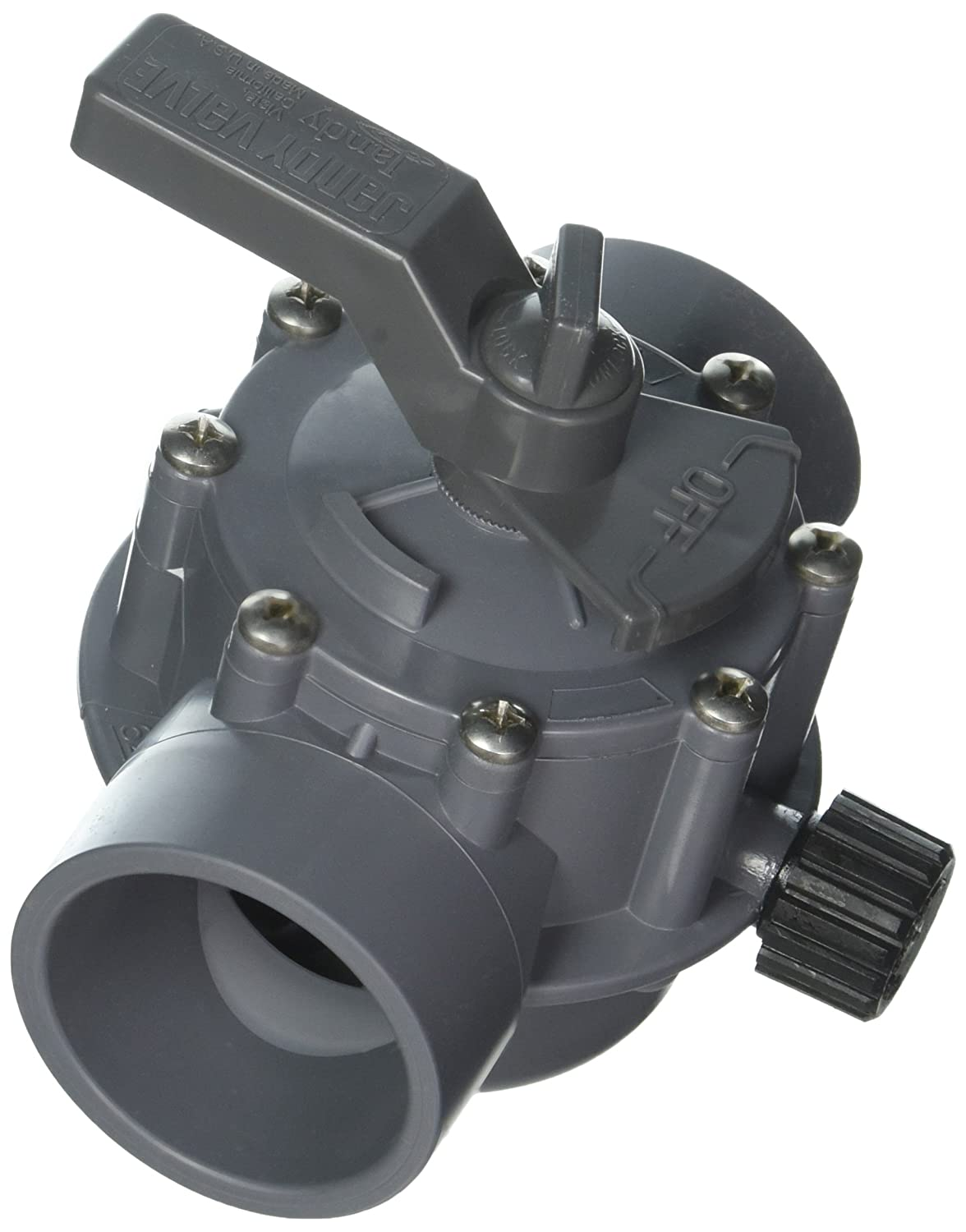 Gray Jandy 2876 2-Port 2 to 2-1//2-Inch Positive Seal Pump Valve