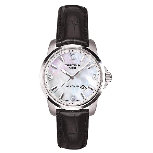 CERTINA DS Podium Reloj DE Mujer Cuarzo 34MM C001.210.16.117.02: Amazon.es: Relojes
