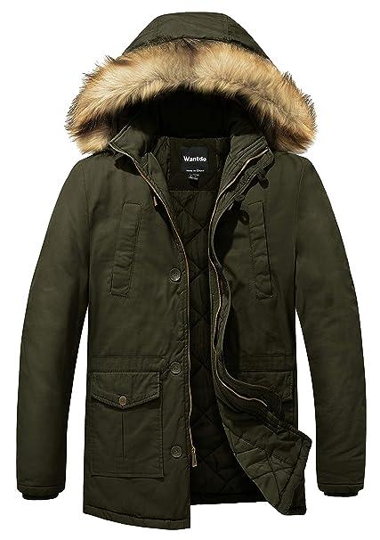 Winter Jackets Army Green Parka Men Warm Thicken Coat