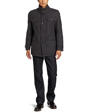e46ef4ca69a4 Michael Kors Men s Breckenridge Multi Pocket Field Coat at Amazon ...