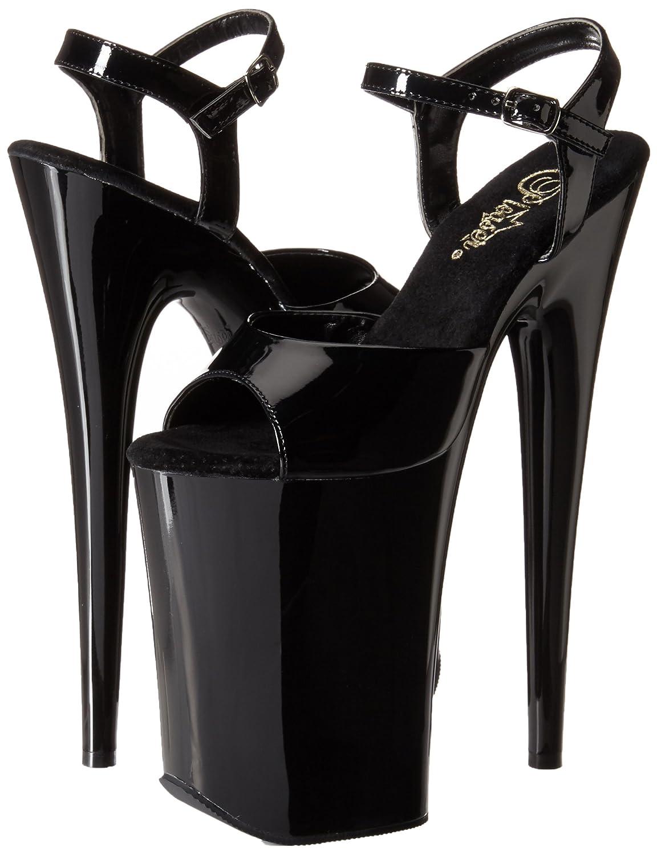 Pleaser Women's 7 Infinity-909/B/M Platform Sandal B00B472PTW 7 Women's B(M) US|Black/Black 7b0037