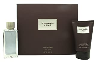 ABERCROMBIE FITCH FIRST INSTIN EDT 50ML + GEL 100ML