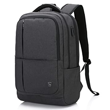 OIWAS Mochila Antirrobo Impermeable Daypacks con Puerto de Carga USB Mochila Colegio Viaje Portátil Multiusos para Estudiantes Hombre Mujer: Amazon.es: ...