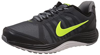 Nike Men's Revolve 2 Anthracite, Volt and Blue Lagoon Running Shoes -9 UK/