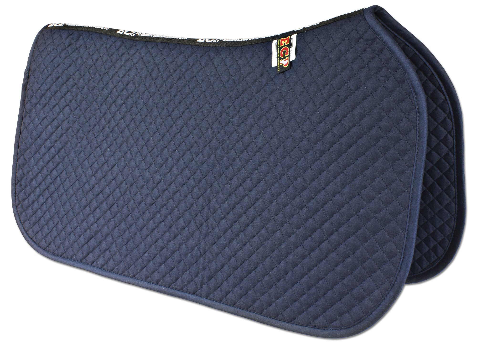 ECP Western All Purpose Diamond Quilted Cotton Saddle Pad Color Midnight Blue