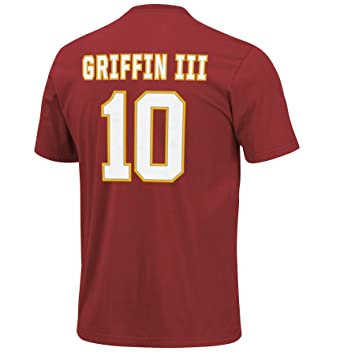 6e5dfa71b Amazon.com   NFL Washington Redskins R Griffin 10 Men s Eligible Receiver  Tee