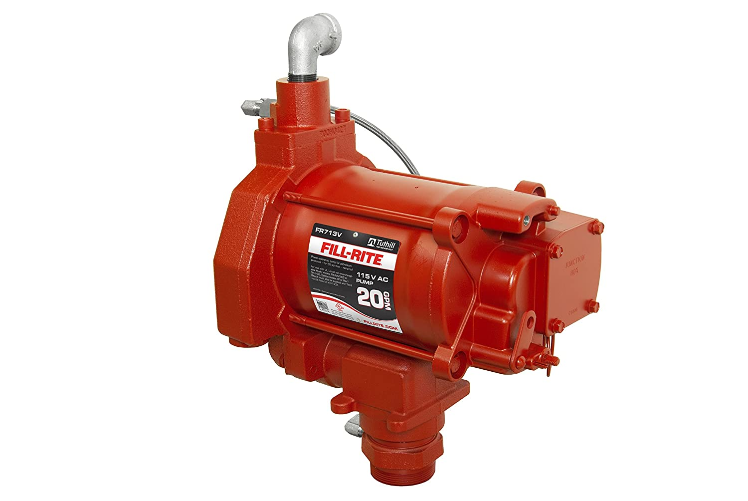 Fill Rite Fr713v 115v Ac Pump For Use With Ast Remote Dispensers Electrical Wiring In The Home And Well Wire Colors Gas Or Diesel 1 3 Hp Industrial Pumps Scientific