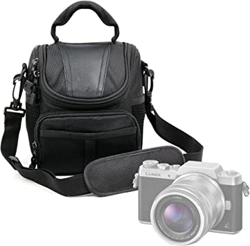 Estuche Duragadget negra para cámara Polaroid Pop Nikon D5600, Panasonic GF9/Lumix DC-FZ82: Amazon.es: Electrónica